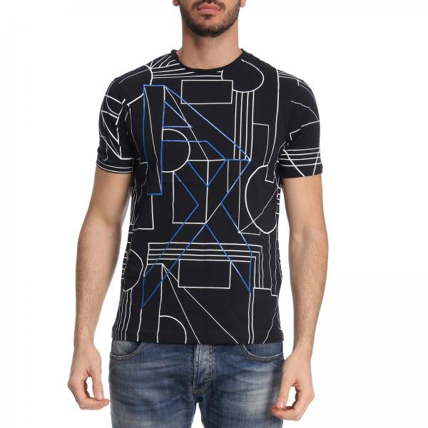 Armani Exchange Men s Blue T-shirt  7e86c111d