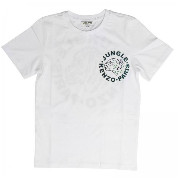 Kenzo Junior Little Boy s White T-shirt  f144ba399