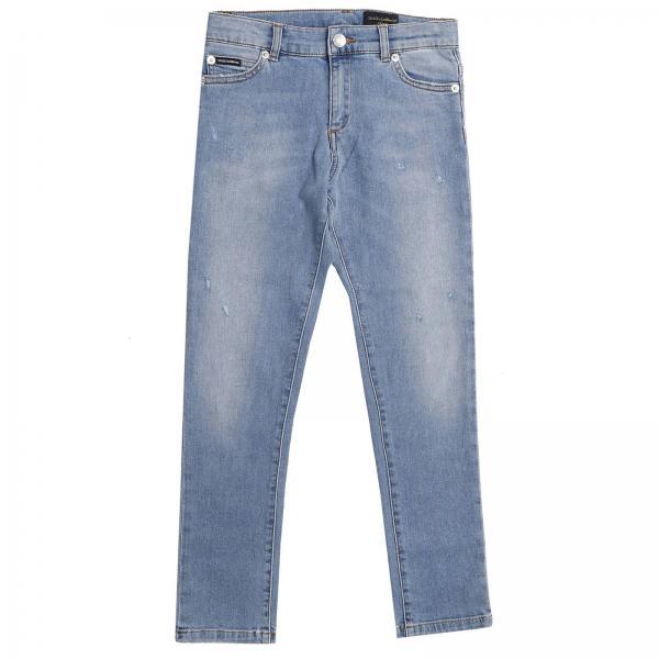 4c404e84c28 Джинсы для мальчиков DOLCE   GABBANA Потертый джинс