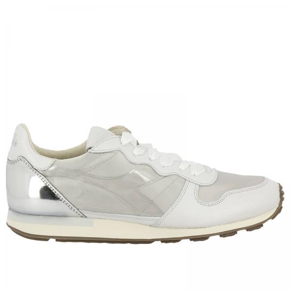 Sneakers Donna Diadora Heritage | Sneakers Camaro H W In Raso E Pelle Con  Contrasti Cromatici | Sneakers Diadora Heritage 172775 - Giglio IT