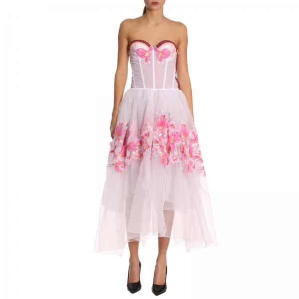 Vestido Mujer Ermanno Scervino Blanco  20ad0708f7da