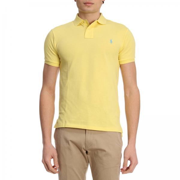 Get Ralph Ac5dc Jaune D2e78 Shirt Lauren Violet Hommes FJ1lKc