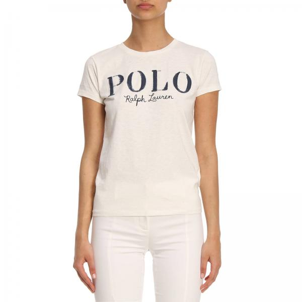 T-shirt Women Polo Ralph Lauren White 319144fbfa
