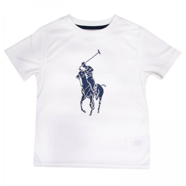 de310732198d8 T-shirt Little Boy Polo Ralph Lauren Kid White