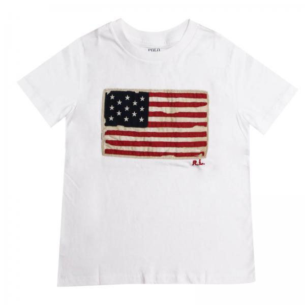 T-shirt garçon Polo Ralph Lauren Kid   T-shirt Enfant Polo Ralph Lauren Kid    T-shirt Polo Ralph Lauren 322695660 - Giglio FR d4ee6caff8c4