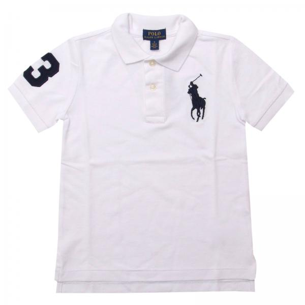9457817ca903b Polo Ralph Lauren Kid Little Boy s White T-shirt   T-shirt Kids Polo ...