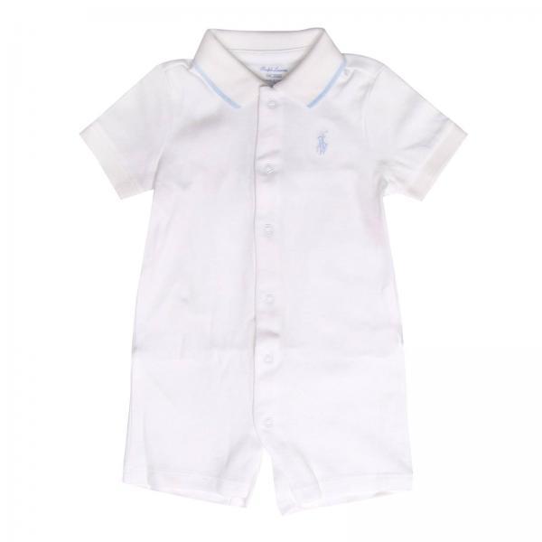 430e96b5c14 Romper Baby Polo Ralph Lauren Infant White