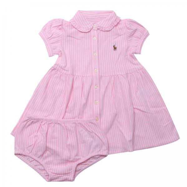93b3b6e5030 Polo Ralph Lauren Infant Baby s Pink Romper
