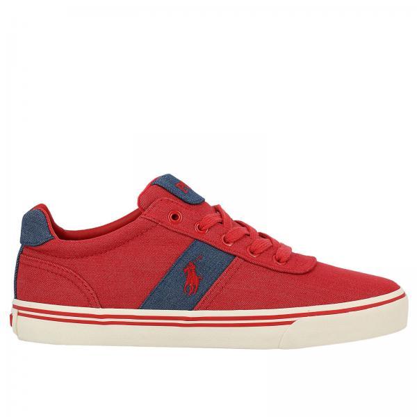 Sneakers Men Polo Ralph Lauren Red