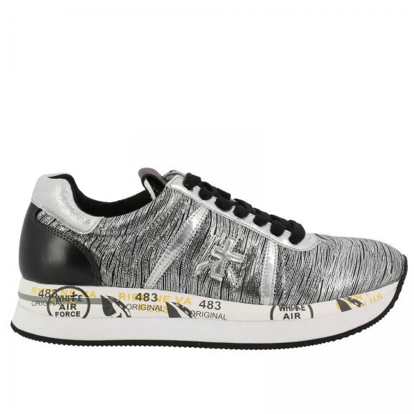 Premiata Conny 2972 Silver Sneakers 2018 Unisex Sale Online Sale Sale Online 0uhAA3ql