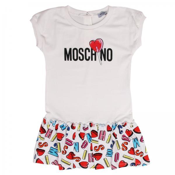 434dc1447db70 Moschino Baby Baby s White Romper