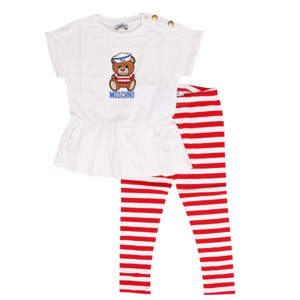 a27a513536c1 Moschino Baby Baby s White Jumpsuit