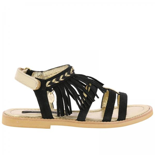 Patrizia Pepe Little Girl s Black Shoes  f94a14f537b