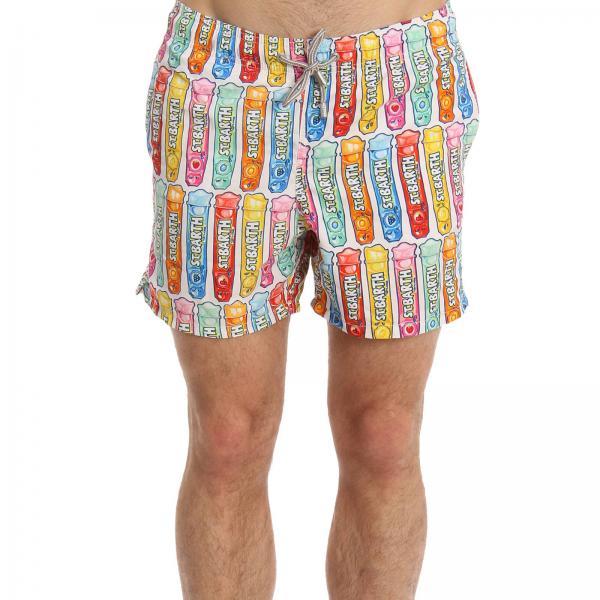 Costume Gustavia Licky Ice boxer con stampa ghiaccioli
