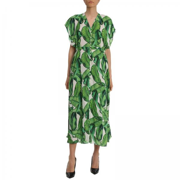 Dress Mc2 Saint Barth KATELYN BANANA LEAVES