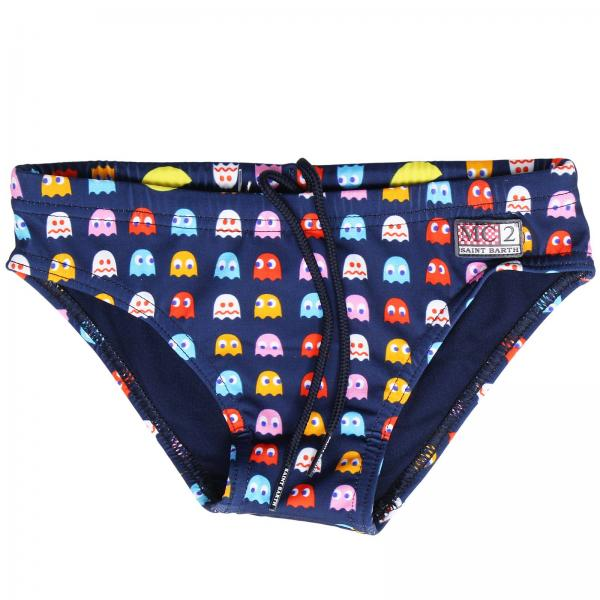 Costume Billy Hungry con stampa pac-man all over