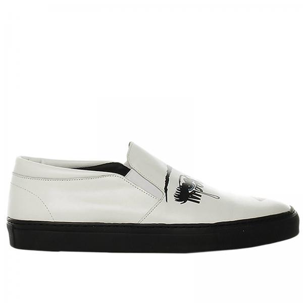 Blanc Baskets Chaussures Femme Couture Moschino txXItArwq