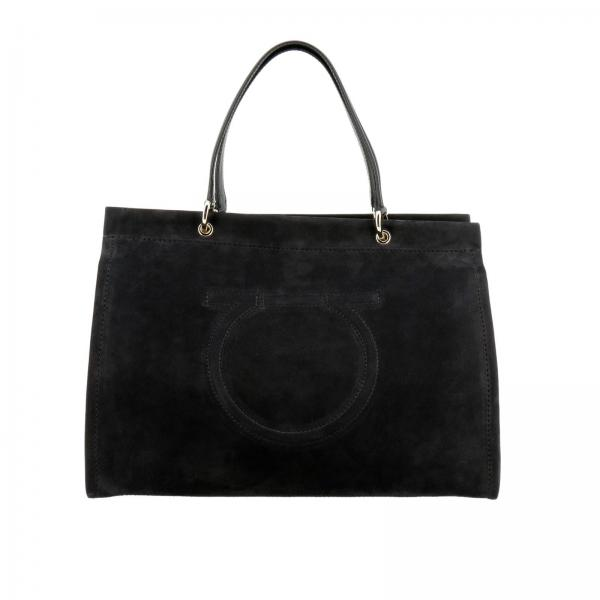 3e37eefcaf Salvatore Ferragamo Women s Black Shoulder Bag