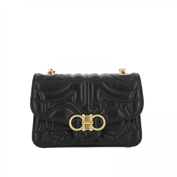 a66ce9c43ab1 Mini bag Women Salvatore Ferragamo Black