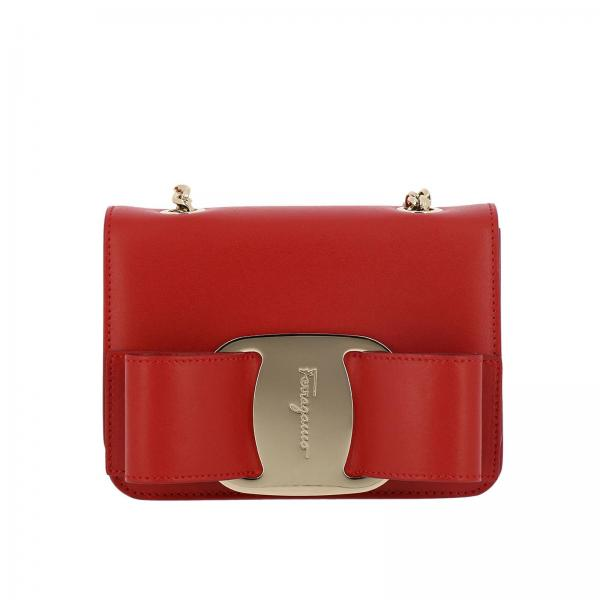 60028136a9c1 Salvatore Ferragamo Women s Red Mini Bag