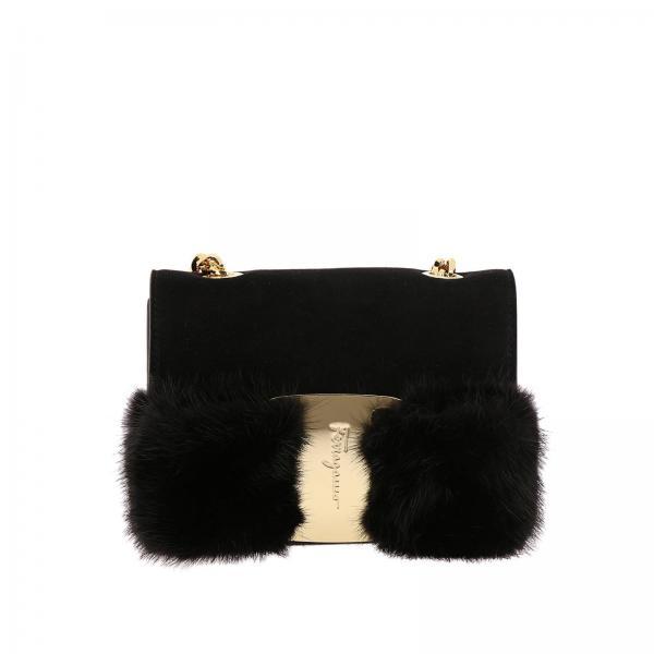 Salvatore Ferragamo Women s Black Mini Bag  7b6a0f8075fdd