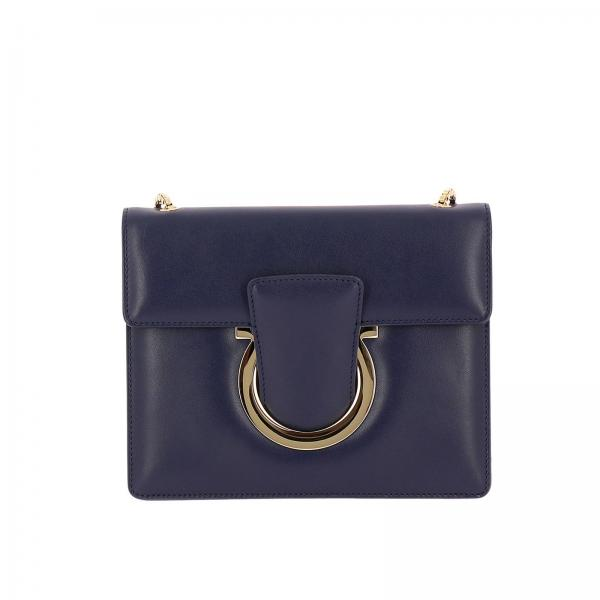 2ce18a52af42 Salvatore Ferragamo Women s Blue Mini Bag
