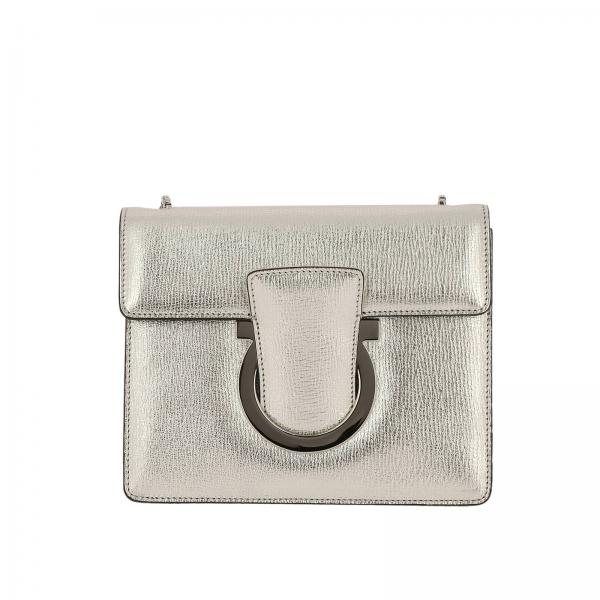43b0f97b5b Mini bag Women Salvatore Ferragamo Silver