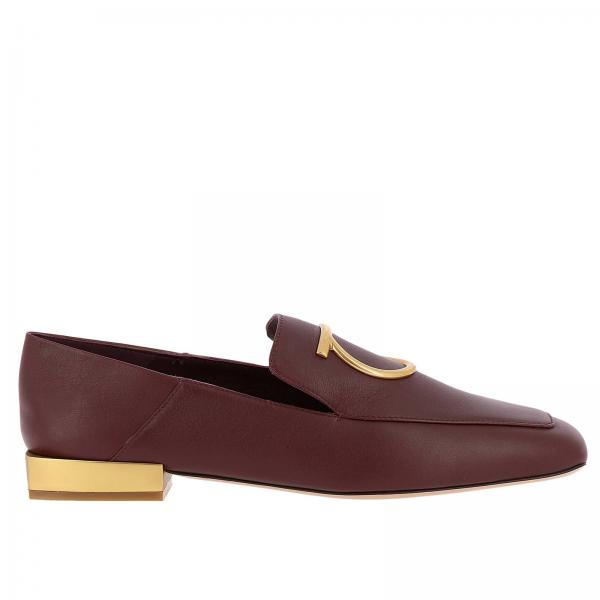 ferragamo burgundy shoes