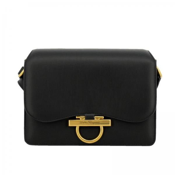 2b9d0c34da Shoulder bag Women Salvatore Ferragamo Black