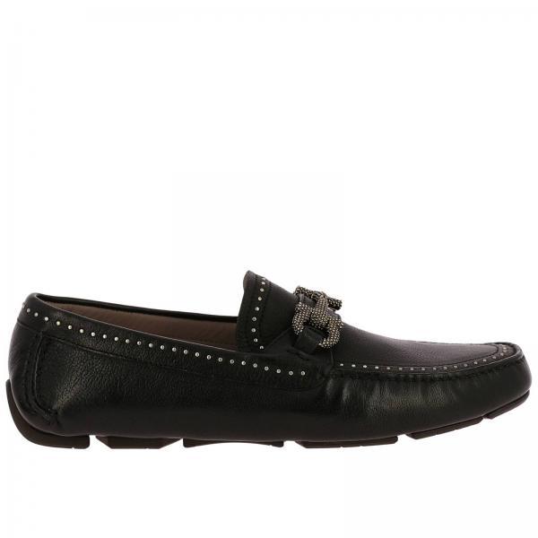 Salvatore Ferragamo Men s Black Loafers   Shoes Men Salvatore ... 298fa6bd1a