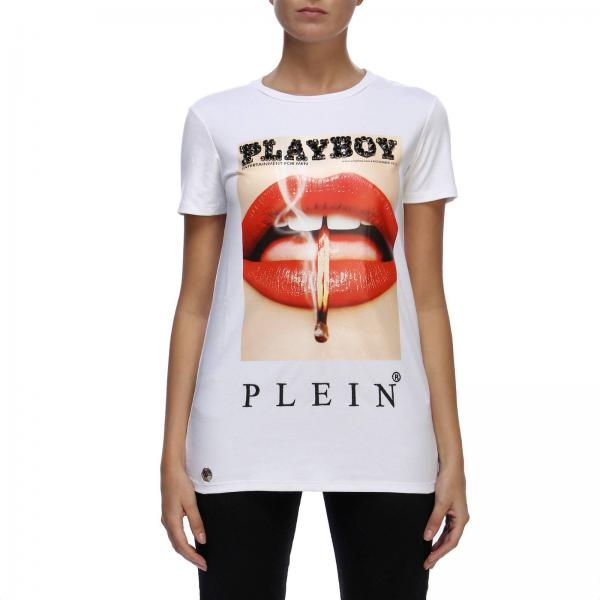 T-shirt Round Neck playboy