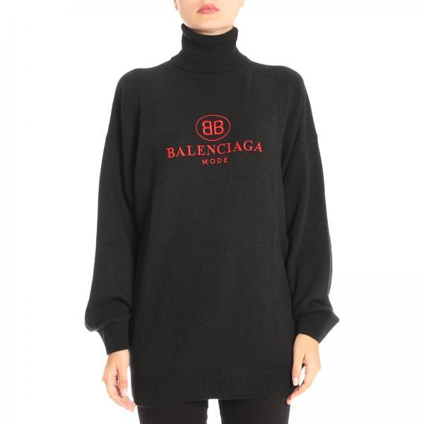 Maglia Donna Balenciaga Nero  f4d1a9004d20