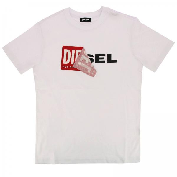 Camiseta Niño Diesel Blanco 36aec882f056a