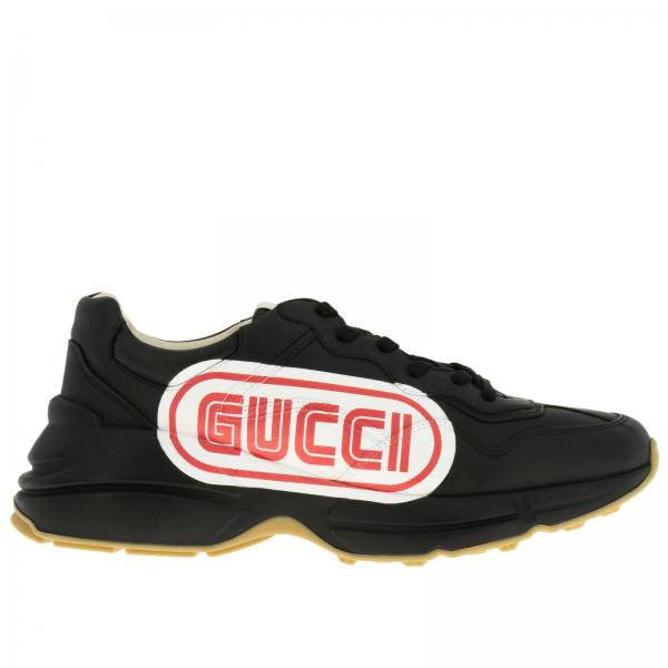 Baskets Homme Gucci Noir   Chaussures Homme Gucci   Baskets Gucci 523609  Drw00 - Giglio FR 91ab7fdc4ff