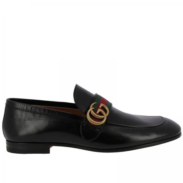 4863c8753b6 Gucci Men s Black Loafers