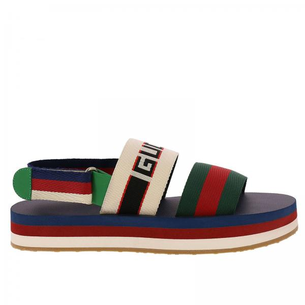 fd15914d0075 Gucci Men s White Sandals