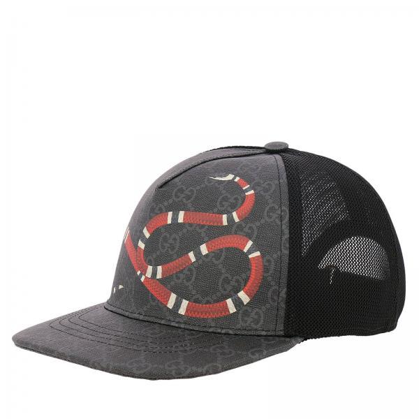 Hat Men Gucci Black 55938504fe49