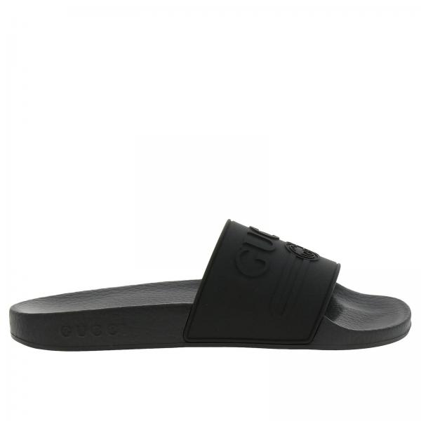 d1c839ef2ec0 Flat Sandals Women Gucci Black