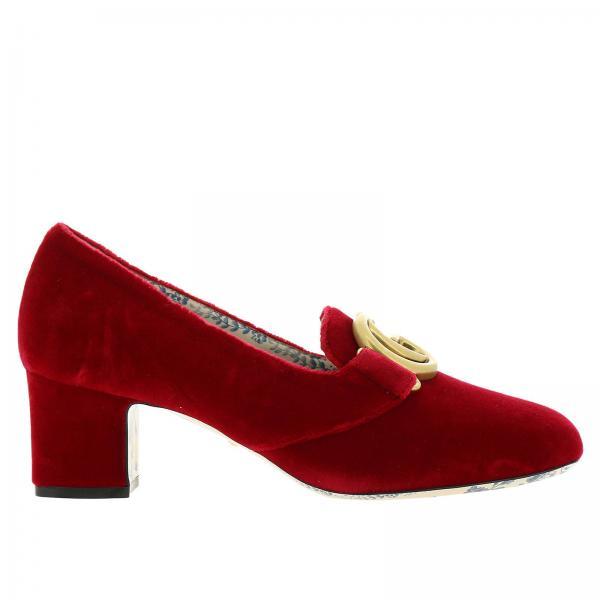 b7c8407f1d83 Chaussures à talons Femme Gucci   Chaussures Femme Gucci   Chaussures à  Talons Gucci 526465 K4d00 - Giglio FR