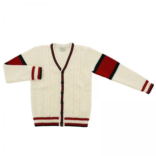 Gucci Little Girls White Sweater Sweater Kids Gucci Gucci