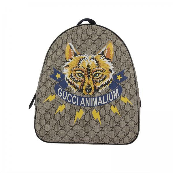 082b4a336bd2 Gucci Little Boy's Beige Bag | Bag Kids Gucci | Gucci Bag 433578 9ud1n -  Giglio EN