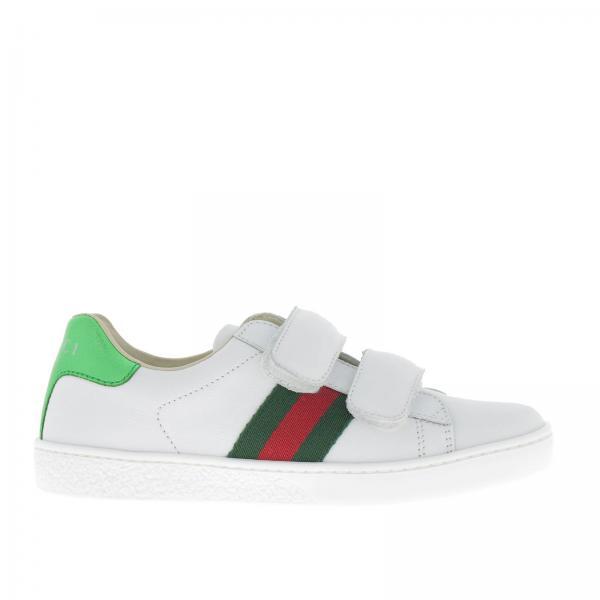 907ea8c56d2 Gucci Little Boy s White Shoes