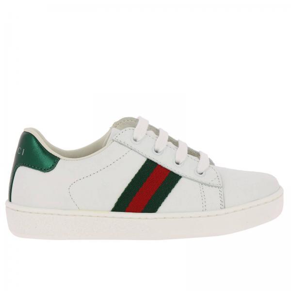 Zapatos Niño Gucci Blanco  2cd48043995
