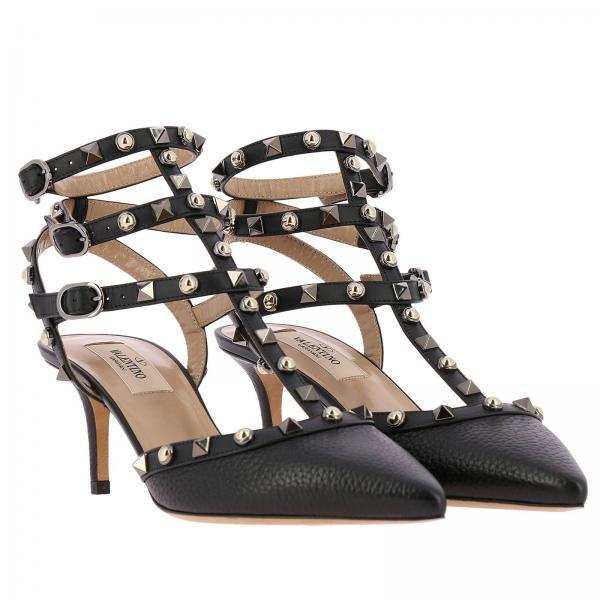 Garavani Valentino Zapatos Qw2s0375 Negro Continuativo Mujer Artículo Salón De Htxgiglio HqHwIaZ