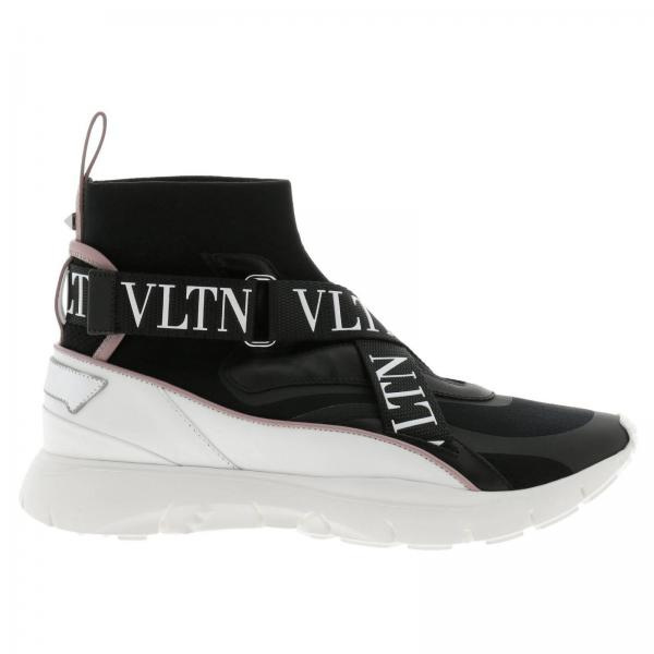 Valentino Garavani Womens Black Sneakers Shoes Women Valentino