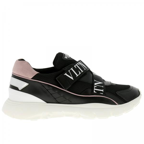 Sneakers In Camoscio E Tecnico Stretch Heroes Her Pelle Tessuto trdCshQx