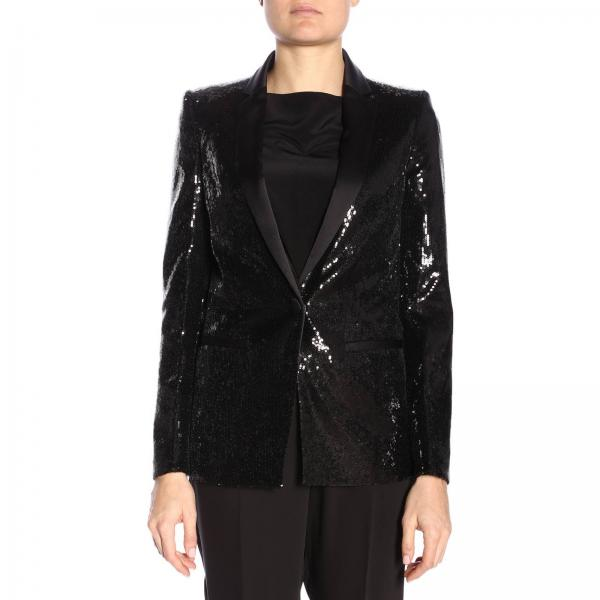 official photos d16cb 4a80a Blazer Women Just Cavalli Black