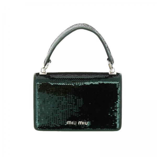 5bh107 Owo Emerald Artículo Miu Bolso Continuativo Mini 959giglio Mujer wRqXITz