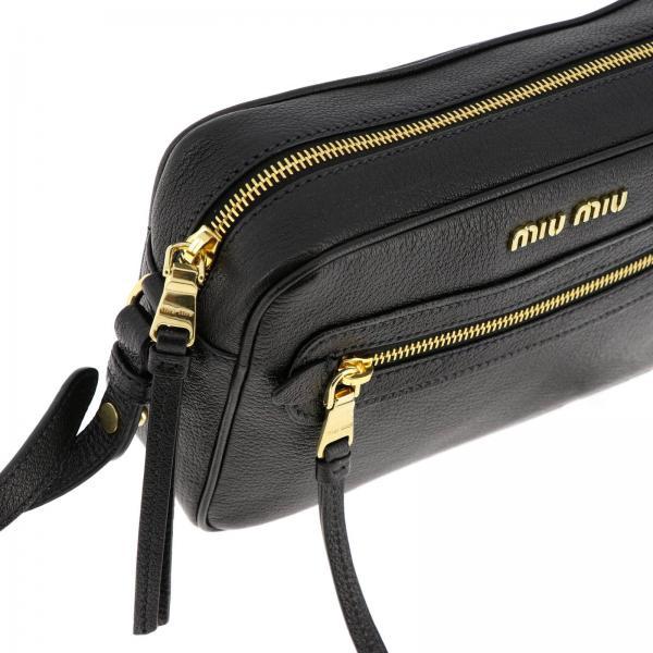 Mattoncino Pelle Con Metallico Mini Donna Borsa Amovibile Tracolla MiuA E Ooo 5bh116 In Logo 2ajb TKJl1Fc