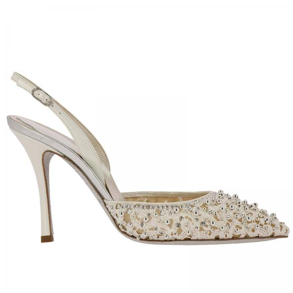 Court shoes Rene Caovilla c09793-100-pi01v155